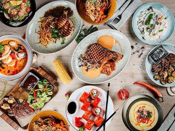 Доставка и самовывоз блюд нашего ресторана!